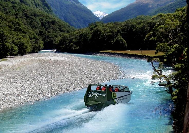 Jet boat deep into the heart of Mt Aspiring National Park, then take a walk into native New Zealand forest and snap a pic of a stunning waterfall, then helicopter up to a glacier! All in a fantastic half day adventure in Wanaka.