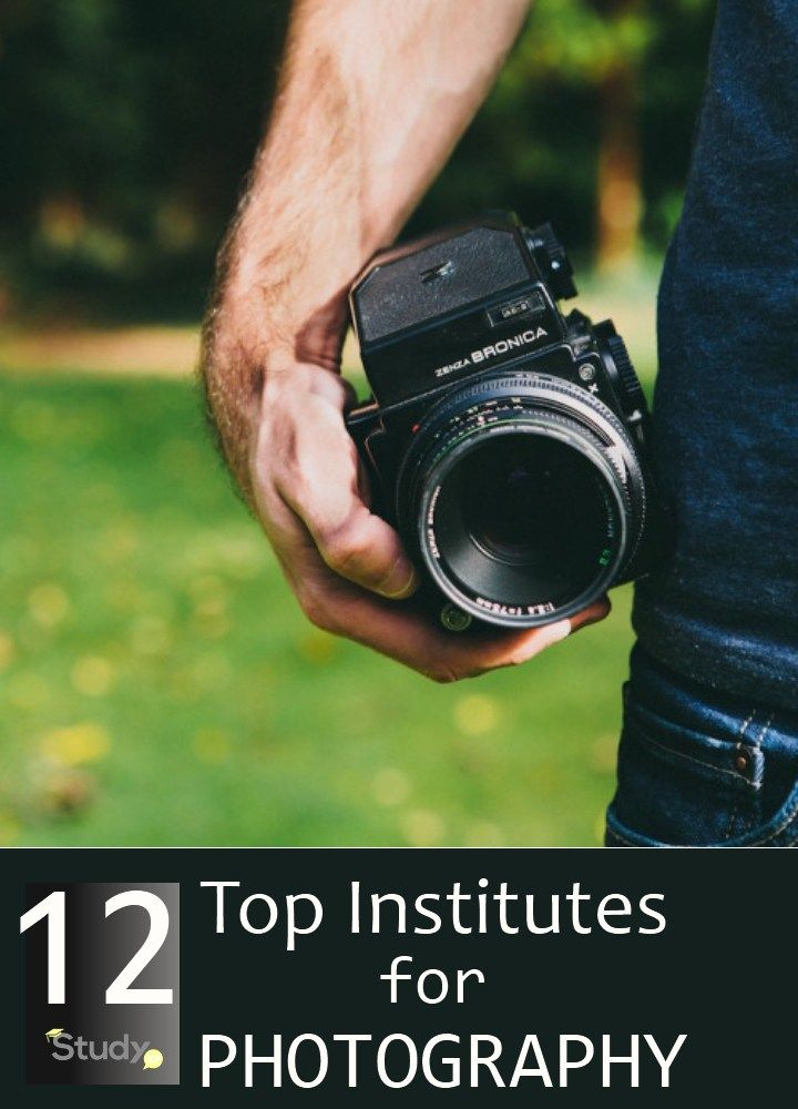 12 Top Institutes For Photography | StudyXP.com