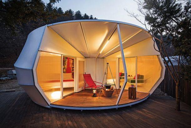 キャンプは嫌いじゃないけど、もっとテントがゴージャスで快適に過ごせたらいいのになぁ。なんて思われる方なら、韓国のArchiWor...