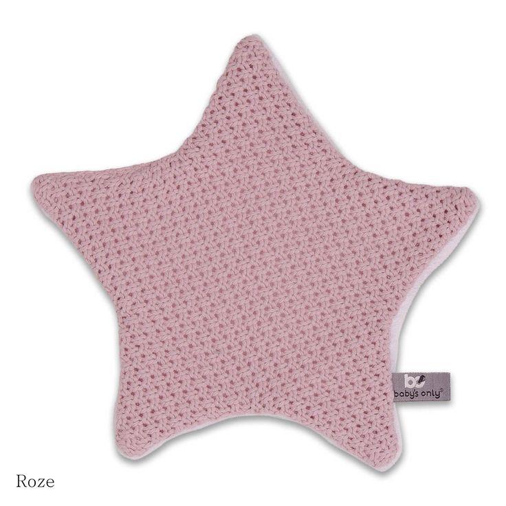 Baby's Only knuffeldoekje ster stoer roze! #knuffel #knuffeldoekje #ster #stoer #baby #only #roze