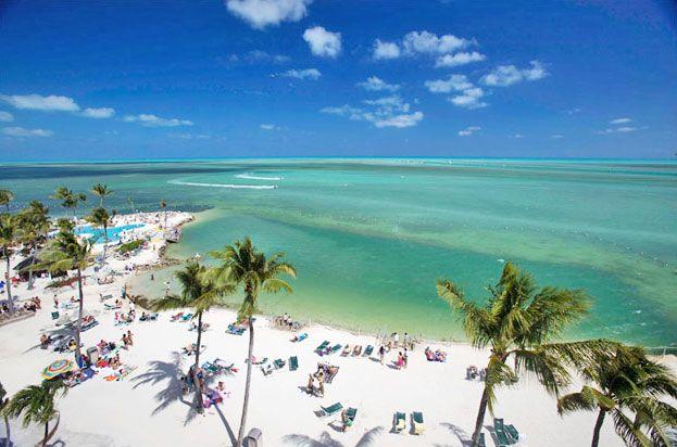 Postcard Inn Beach Resort & Marina at Holiday Isle in Islamorada Florida. Many hours spent at the sand bar