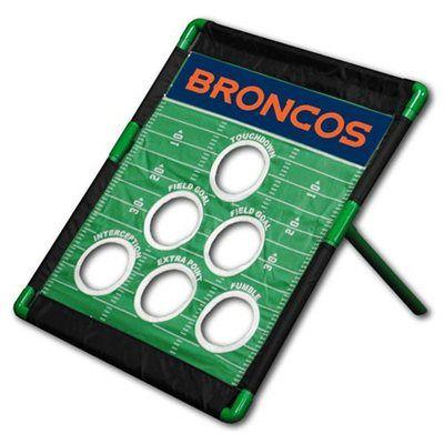 Denver Broncos Football Bean Bag Toss Game