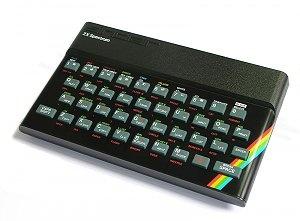 My first computer Spectrum ZX 48 - with Zilog Z80 processor @ 3,5 MHz  48 KB memory.... some 24 years ago :))  Også min første computer!