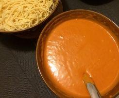 Cremige Tomatensoße a la Mama