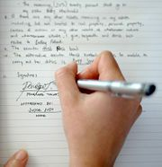 How to write your own last will and testament.  (and, yes, you need one!)