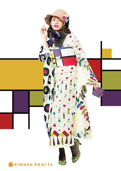 kh-224:レトロモダン #kimono