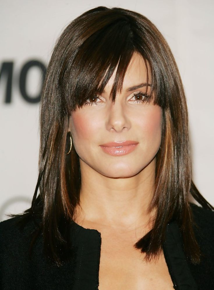 Sandra Bullock Hair - love her!  And I like this hairstyle too!