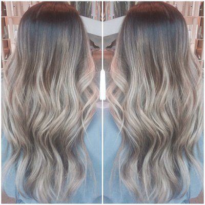 ... on Pinterest | Natural blondes, Ombre highlights and Ombre hair color