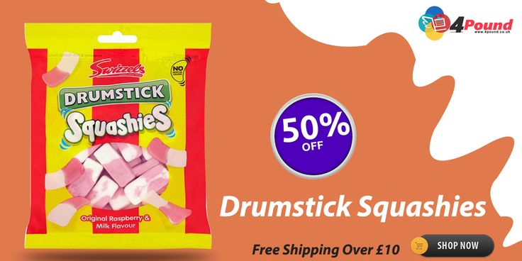 Order Tasty Drumstick Squashies Chocolate. Get this Product with 50% discount