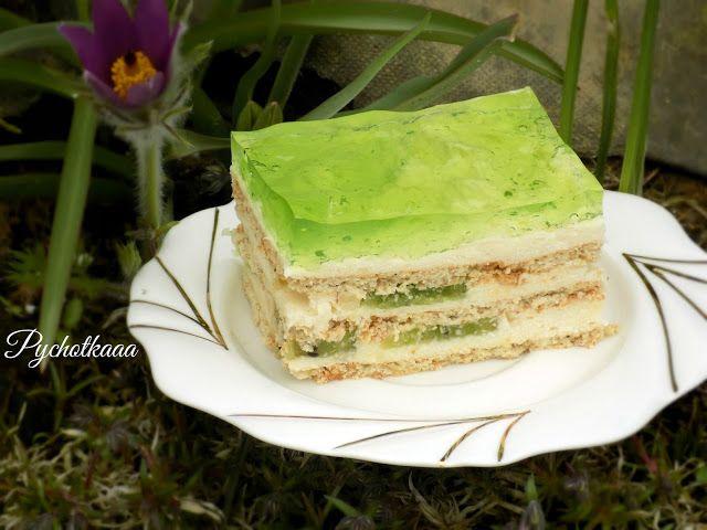 przepis na ciasto kiwi bez pieczenia