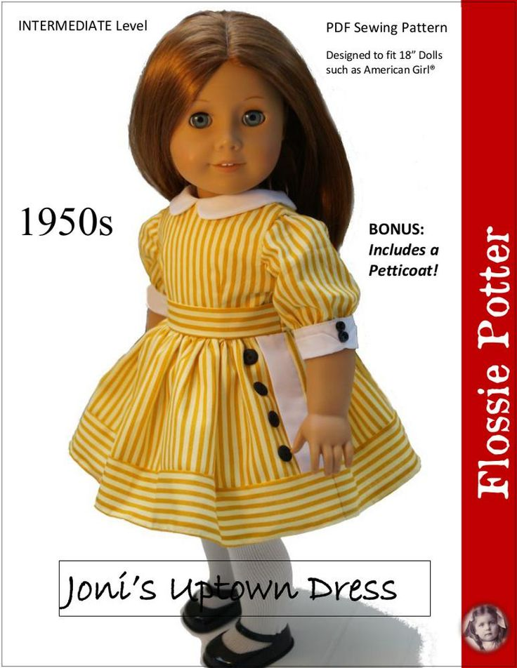 18 doll clothes patterns pdf