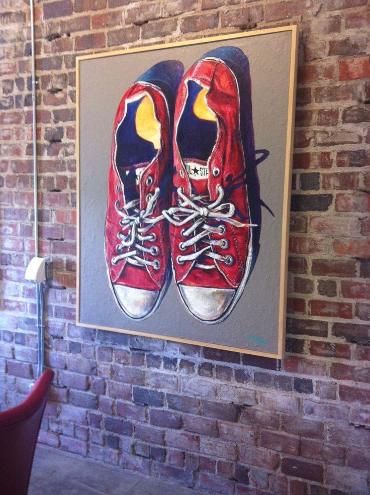Jimmy navarro dsm art chucktaylors local artists