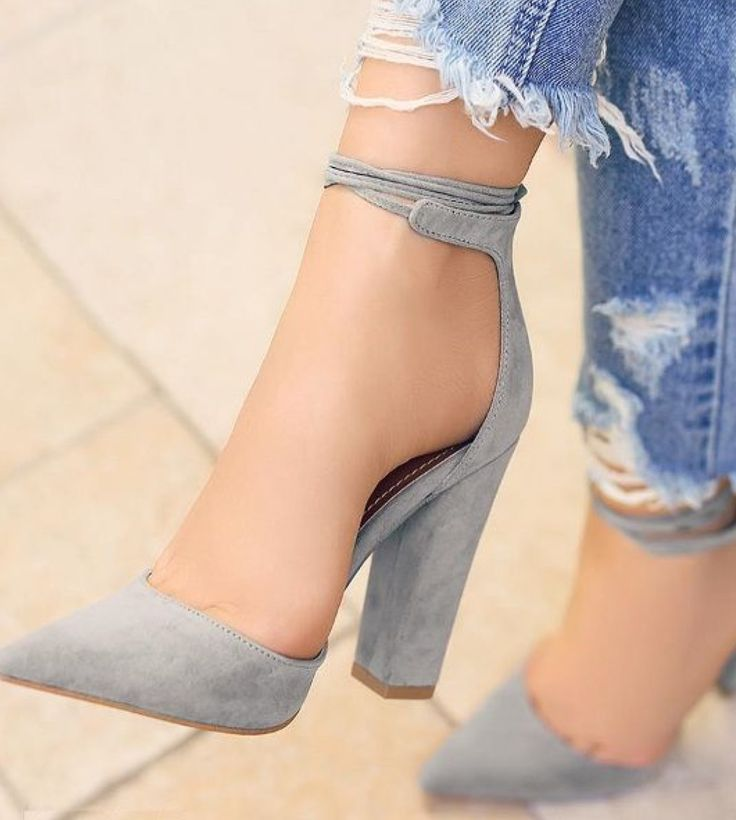 Buy 3 Color Fashion Women Sexy High Heel Thick Heel Shoes Hot Sale at Wish  - Shopping Made Fun