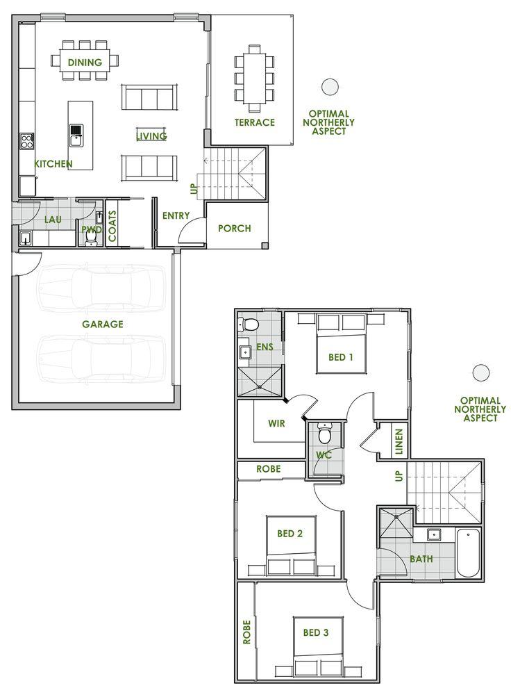 198 best House images on Pinterest Floor plans, Future house and - plan maison 170 m2 plain pied
