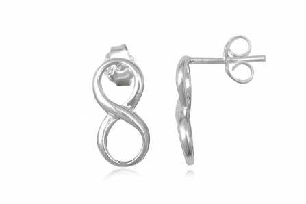 INFINITE BASIC silver earrings for women