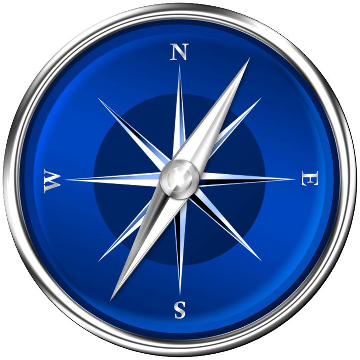 Animated .gif of a compass made from single picture