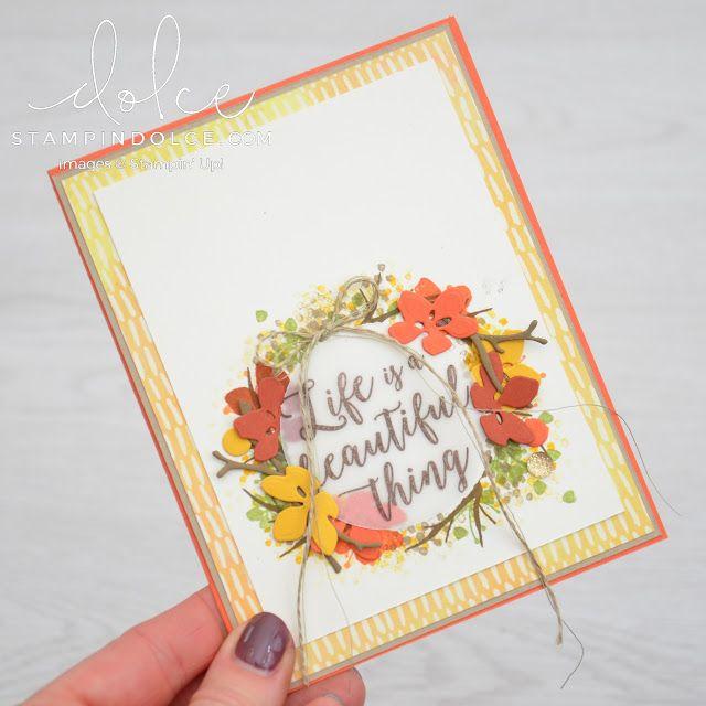 Painted Autumn - Fancy Friday Blog Hop
