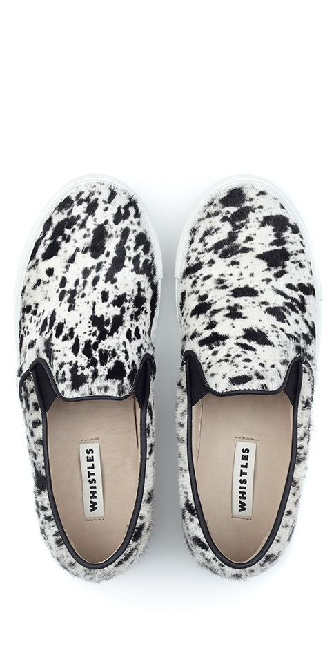 Comfy slip ons for a cool morning in NYC. #shoes #mywearforecast