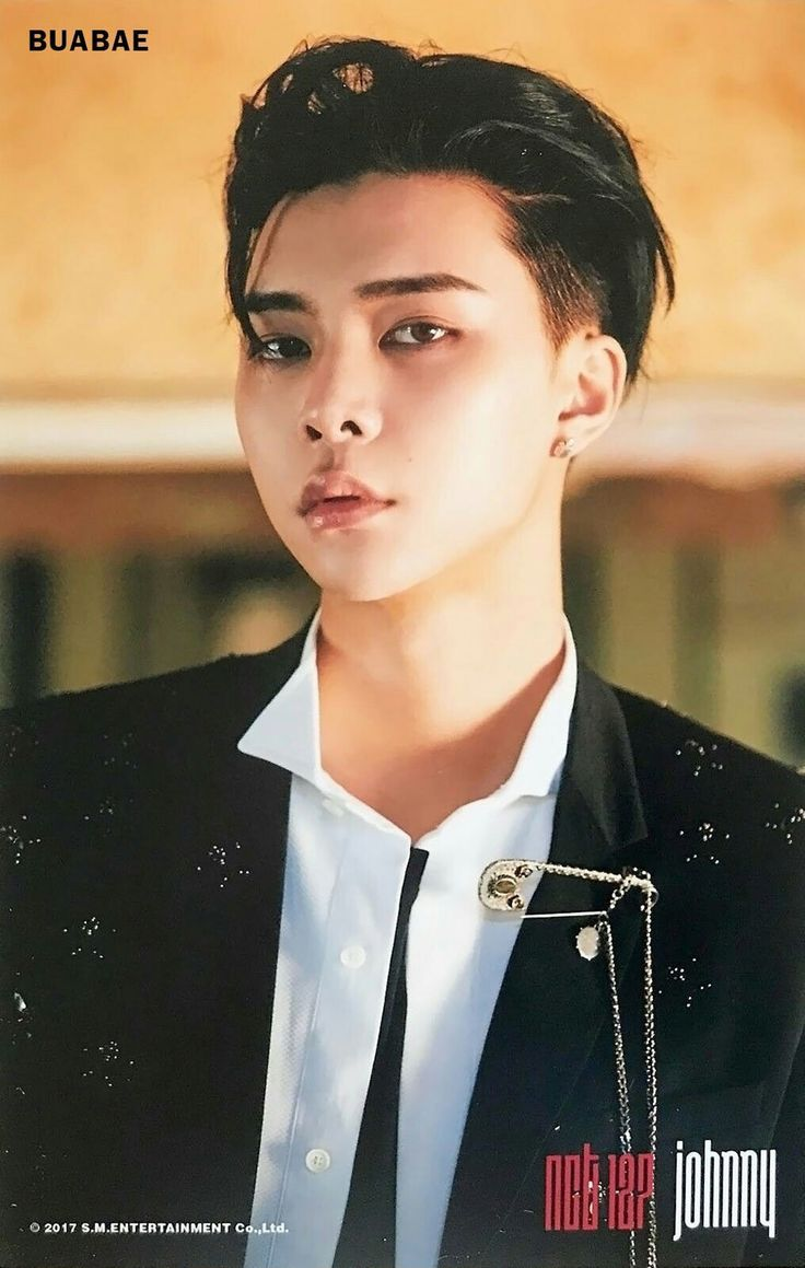 [SCAN] #NCT127 Cherry Bomb 4x6 photo set - #JOHNNY