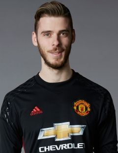 Manchester United First Team Player David de Gea - Official Manchester United…