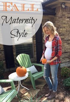 An Uncomplicated Life Blog: Fall Maternity Style
