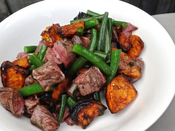 25 english roast pinterest sous vide lamb salad with roasted sweet potato and green beans forumfinder Gallery