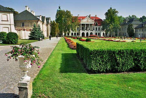 pałac Zamoyskich w Kozłówce (lubelskie)