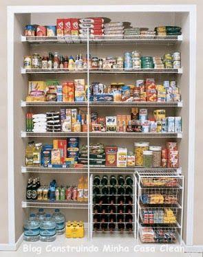 Despensas de Cozinhas Lindas!!! Veja 10 Dicas de Organização!