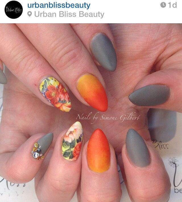 Best 25+ Tropical flower nails ideas on Pinterest | Dark ...