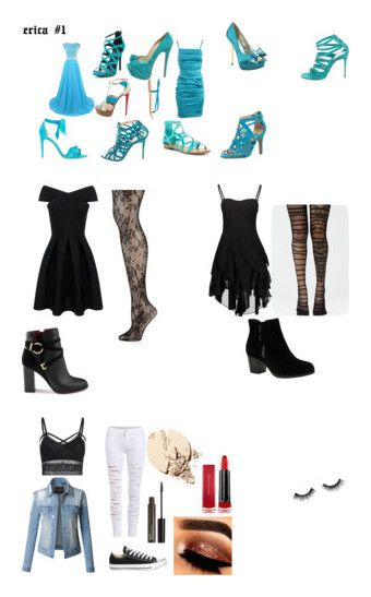 """dresses"" by erica-hoy on Polyvore featuring beauty, Dolce&Gabbana, Alexandre Birman, Breckelle's, Adrienne Vittadini, Christian Louboutin, Luichiny, Ruthie Davis, K. Jacques and Miss Selfridge"