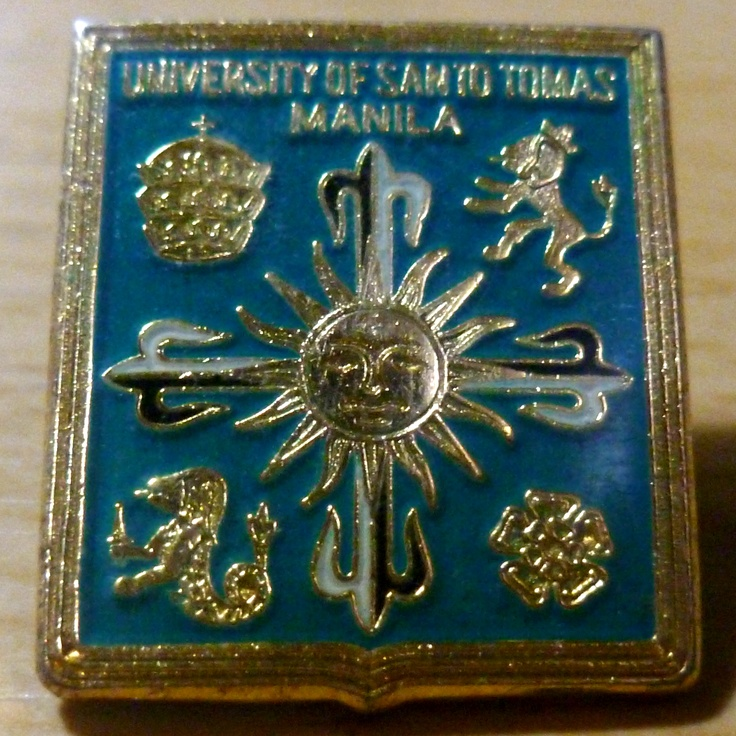 UNIVERSITY OF SANTO TOMAS SEAL PIN (2003)