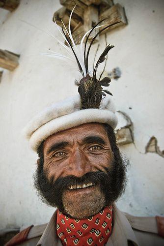 Baltit Fort guard, Hunza, Pakistan.
