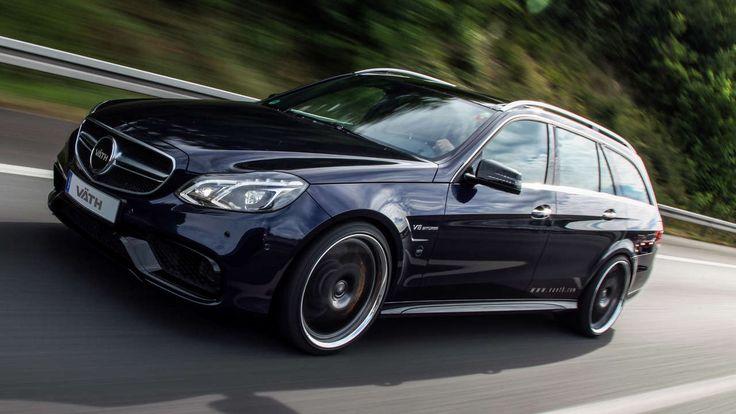 750 PS! Dieser Kombi ist der Renner Tuner Väth schärft den Mercedes E 63 AMG 4Matic nach