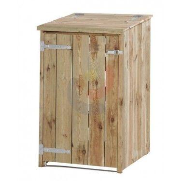 Containerberging Enkel klikokast  LoRas tuinkast