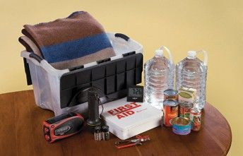 outage kit - Rocky Mountain Power ... including glow-in-the-dark sticker with phn #, mobile outage updates, generator safety, override electric garage door openers, etc.