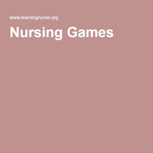 Nursing Games