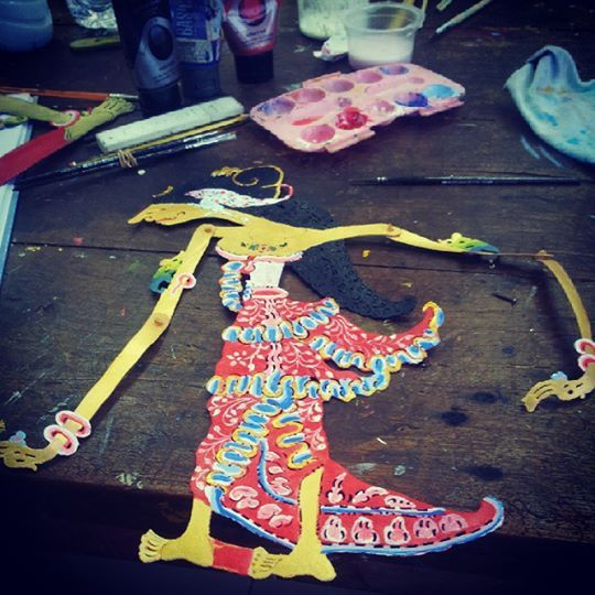 Wayang kulit – work in progress
