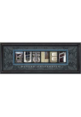 $39.00 Product: Butler University Letter Art Decorate your post-grad pad in style!