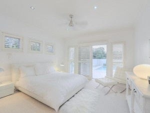#RogersWinterWhites  White bedroom.