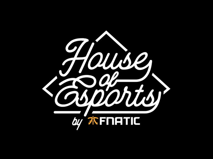 Logo of House of Esports for Fnatic at CES 2018