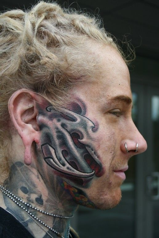 Jaw Dropping Face: 55 Worst Face Tattoos Ever! Jaw-Dropping!