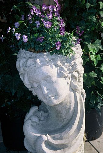 Another Head Planter For Garden