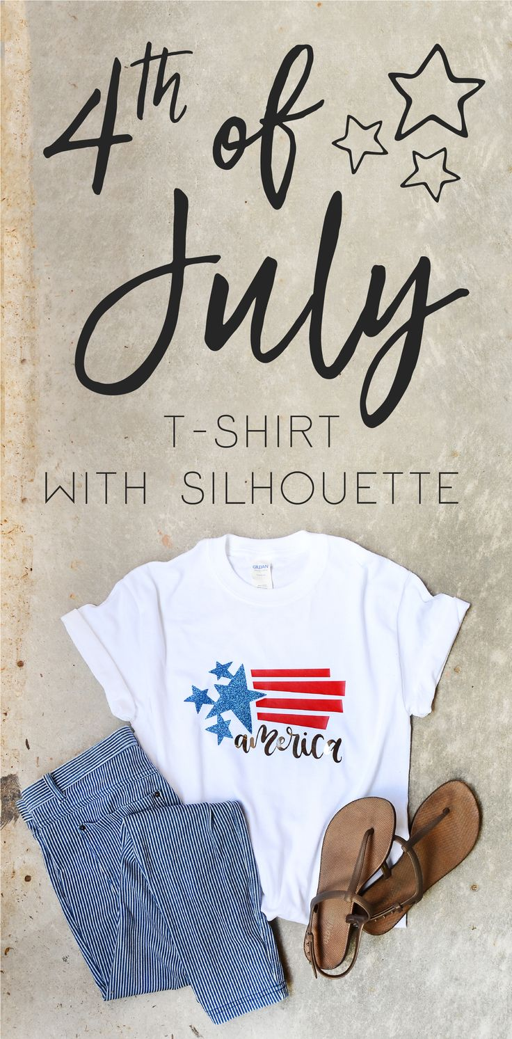 My mom wanted a shirt for her Fourth of July party she is hosting. It's so easy to buy one, yes, but it's so much more fun to have a one-of-a-kind shirt, don't you think? Plus I just love making custom shirts so much that I had to create one for her. So …