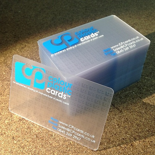 The Best Looking Business Card Ever Businesscard Plasticcard Plasticbusinesscard Design