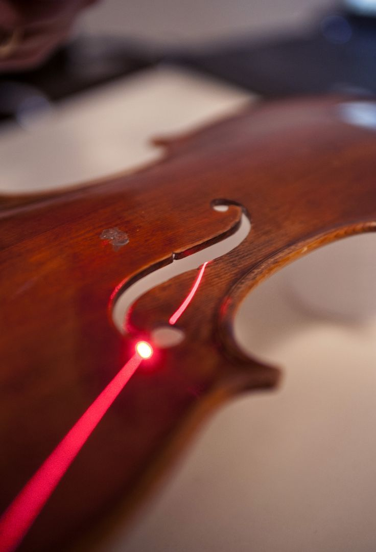 3d scan of the top of a violin