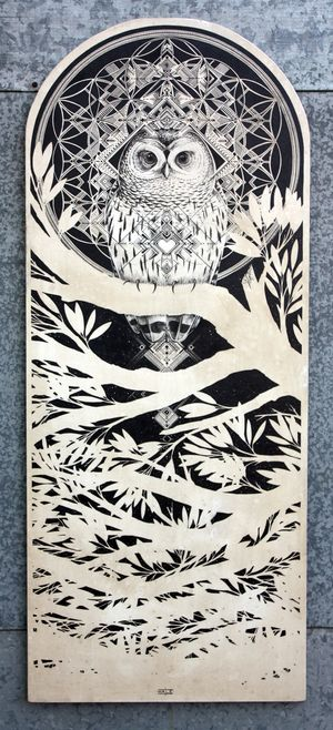 david hale - great illustrations some good owl stuff