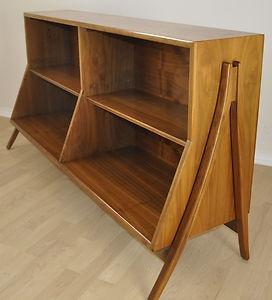 Mid Century Danish Modern Era 1962 Kipp Stewart Drexel Declaration Bookcase *swoon*