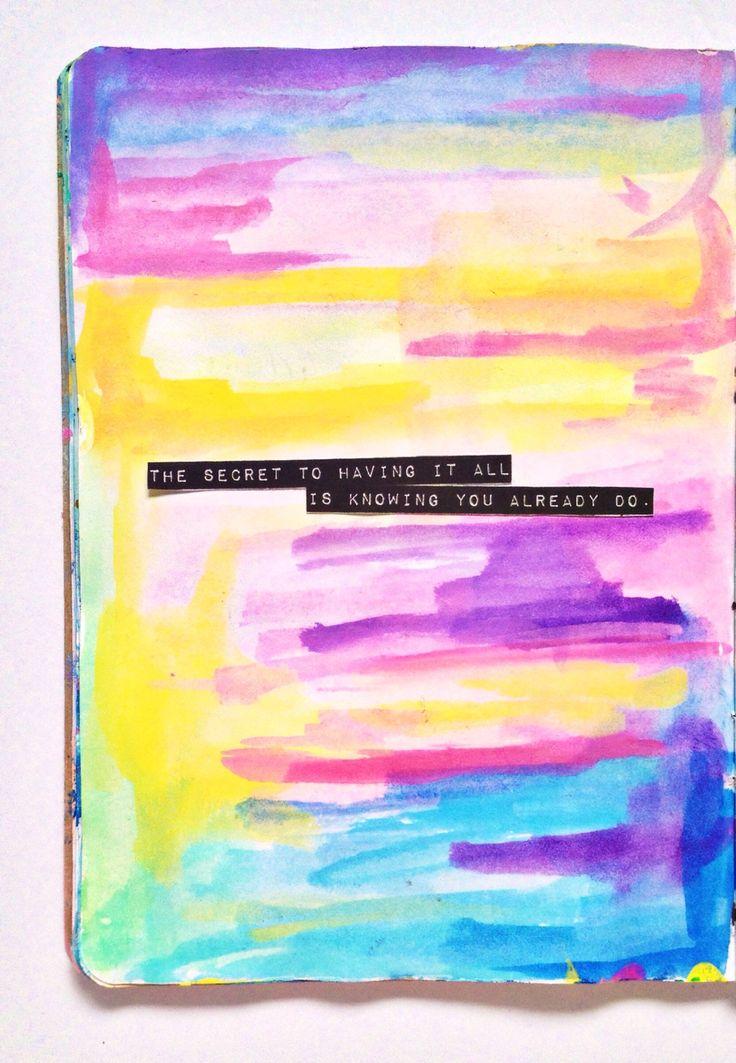 Get Messy 19 art journaling challenge    Olya Schmidt