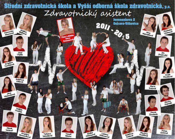 Střední zdravotnická škola a Vyšší odborná škola zdravotnická, Ostrava - Vítkovice, 2015, poslala Kateřina