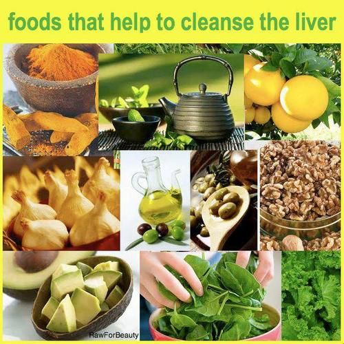 Cleanse the liver.... This could be helpful to my fil if he cared.